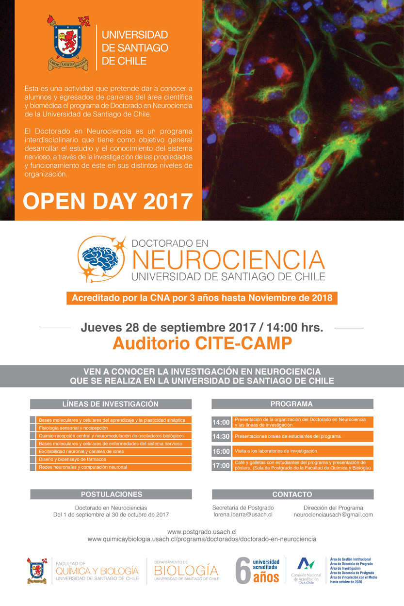 Doctorado en Neurociencia Usach