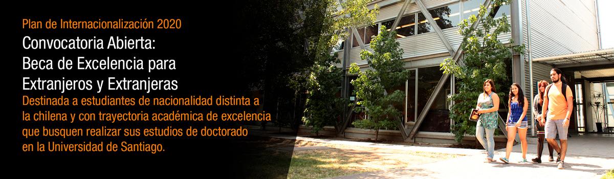 Beca de Excelencia para Extranjeros - Doctoral - Universidad de Santiago