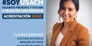 Dra. Claudia Sánchez