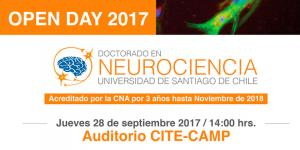 Open Day 2017 - Doctorado en Neurociencias - Usach